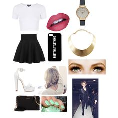 KCA with Ash by zishahoralik on Polyvore featuring polyvore, fashion, style, Topshop, Forever New, Henri Bendel, Olivia Burton, GUESS and claire's