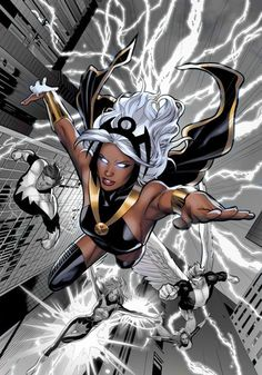 There is a Storm inside every gurl!  We are awesome! Storm & The X-Men