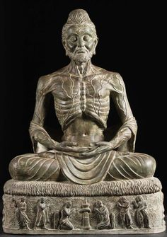 Check out the deal on CUSTOM Brass Meditating Starving Buddha at Hindu Gods & Buddha Statues Buddha Sculpture, Sculpture Art, Gautama Buddha, Buddha Art, Sacred Art, Ancient Art, Art And Architecture, Asian Art, Decoration