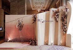| Alive Conrad Wedding Backdrop Design, Wedding Stage Design, Wedding Design Inspiration, Wedding Reception Backdrop, Wedding Isle Decorations, Backdrop Decorations, Backdrops, Iphone Wallpaper Green, Wedding Photo Walls