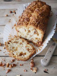 Cake aux cacahuètes caramélisées