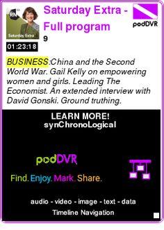 #BUSINESS #PODCAST  Saturday Extra  - Full program podcast    9    LISTEN...  http://podDVR.COM/?c=d501dcc4-e2c7-05e5-5633-0133b38ac831