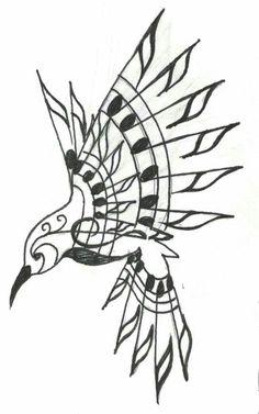 Musical tattoo bird tattoo