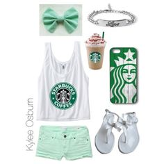 Starbucks outfit :)