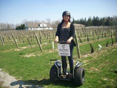 Segway PT Tours at Reif Estates Winery - For more information on touring this location, please contact Niagara Segway: http://www.niagarasegway.ca/
