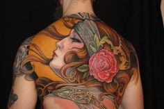 Off the Map Tattoo : Tattoos : Jeff Gogue : Large Scale