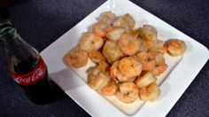Spruce up your shrimp by adding a little Coca-Cola!