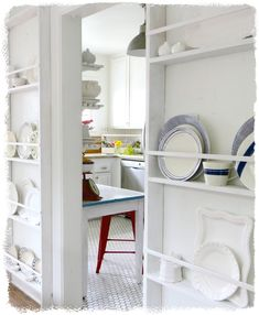 Gaining a Foot of Space with Plate Racks  Art and Sand