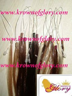 Micro loops are another type of hair extension that offers you that secret and discreet look and feel.