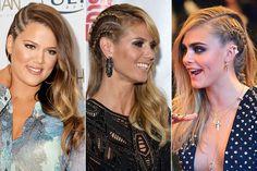 Aprenda penteado inspirado em corte de cabelo com lateral raspada (Foto: Getty Images / AFP / Getty Images)