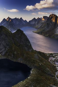Reinebringen view - Lofoten - Norway
