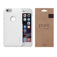 iPhone Case Screen Protector Film Araree Viewty Pure White Package for Apple 6s Plus Case, 6 Case, Phone Screen Protector, Apple Iphone 6s Plus, Buy Iphone, Pure White, Card Holder, Packaging, Pure Products