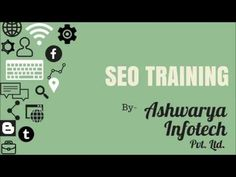 If you want to build a successful career and you are confused about the field to choose as your career, SEO is the perfect option for you. It is very easy to learn, also it is a very popular field and has lots of opportunities. Join Ashwarya Infotech and be a part of such a growing industry. Watch this video and understand about SEO. For more information, you can visit our training page- http://www.ashwaryainfotech.com/seo-training/ or call us- 0731-4288484