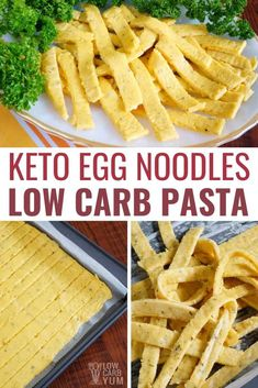 Make your own keto noodles for low carb meals! With this delicious low carb recipe, it's easy to . Make your own keto noodles for low carb meals! With this delicious low carb recipe, it's easy to make your own keto pasta out of simple ingredients! Sausage Recipes, Meat Recipes, Seafood Recipes, Low Carb Recipes, Fish Recipes, Dinner Recipes, Cooking Recipes, Healthy Recipes, Pasta Recipes