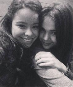 Cierra Ramirez and Maia Mitchell