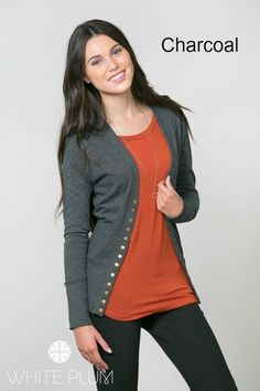 Classic Button-Up Cardigan! 18 Colors | 2 Styles! | Jane