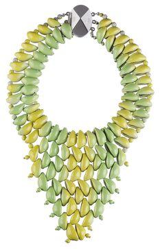 Collar Nouez-Moi con caracolas de Dior.