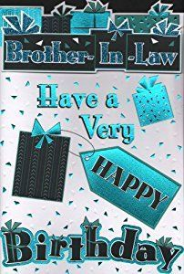 Happy Birthday Brother in Law Cards