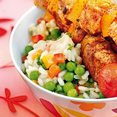 Bunter Konfetti-Reis Rezept | Küchengötter