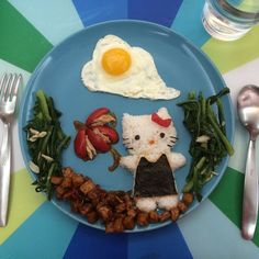 essen tv sendung nahrung dekorieren hello kitty theme