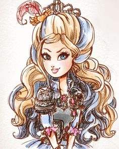 Ever After High Darling Charming Kids Cartoon Characters, Cartoon Kids, Darling Charming, Monster High, Ever After High Rebels, High Art, Magical Girl, Cartoon Drawings, Aesthetic Pictures