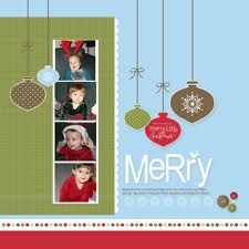 Christmas page idea
