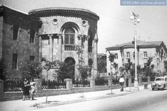 The Writer's House on Bagramyan Street in Yerevan, 1959