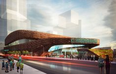 Barclays Center Plaza To Feature Green Roof Subway Entrance