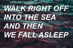 March to the sea - Twenty one pilots. This is my favourite song.
