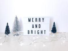 The Original Cinema Lightbox Mini Lightbox, My Cinema Lightbox, Christmas Hanukkah, Christmas Morning, Cinema Sign, Battery Powered Led Lights, Led Light Box, Color Changing Lights, Create Words