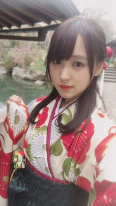 I was younger in this. Cute Asian Girls, Cute Girls, Prety Girl, Japanese Girl Group, Japan Girl, Nihon, Japanese Kimono, Traditional Dresses, Girl Photos
