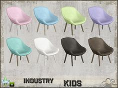 BuffSumm's Industry Kids Livingchair
