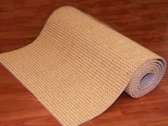 The sisal remnants we used for the slate cat scratcher.