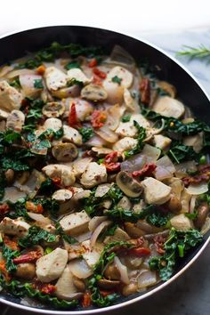 Tuscan Chicken Skillet | 17 Delicious One-Dish Recipes For When You're Trying To Eat Healthy - BuzzFeed News