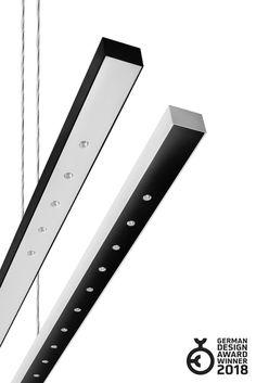 Kolekcja LENS LINE marki Aquaform, która otrzymała nagrodę German Design Winner 2018 to oświetlenie liniowe, w którym wykorzystano diodę elektroluminescencyjną. Oprawy oświetleniowe LENS LINE LED zamiast przesłony wykorzystują modularnie ułożone soczewki. Taka konstrukcja daje możliwość wyboru kąta świecenia, dotychczas charakterystyczną raczej dla oświetlenia punktowego – reflektorów. Dzięki temu kolekcja LENS LINE pozwala spojrzeć na oświetlenie użytkowe z zupełnie nowej perspektywy.