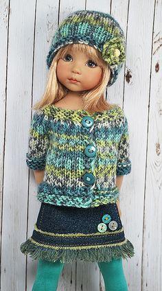 C'est un véritable régal pour les yeux pour celles qui aiment les Little Darling et les beaux tricots !!!  Mais pas que ......
