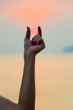 Sunset in Ao Nang beach Krabi Thailand / Auringonlasku Ao Nangin rannalla Krabilla Thaimaassa. #Sunset #Thaimaa #Krabi #Aonang #Thailand #Auringonlasku