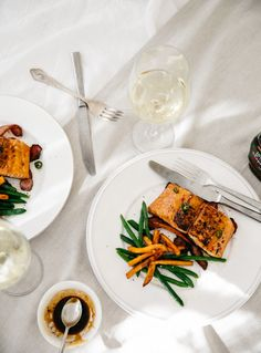 Maple & Soy Glazed Salmon | What To Cook