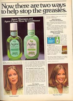 Agree Shampoo and Conditioner - the best smelling shampoo ever!