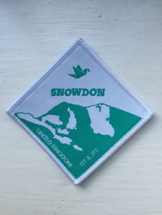 Snowdon - UK Sub-camp, one of 5 mountains that are all divided into 5 again (A,B,C,D,E), a total of 25 UK camps dotted across the adult camping area at the World Scout Jamboree 2015
