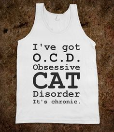 OCD=obsessive cat disorder