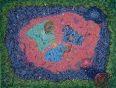 Cosmos - Boyama,  60x10x80 cm ©2014 Erdal Bölükbaşı tarafından -                                                              Gerçeküstücülük, Tuval, Uzay boşluğu, Cosmos, universe, stars, big bang