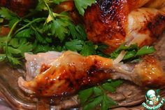 "Курица ""Секретная"" – кулинарный рецепт Meat, Chicken, Recipes, Food, Meal, Eten, Recipies, Meals, Buffalo Chicken"