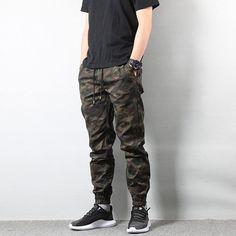 American Street Style Fashion Men's Jeans Jogger Pants Camouflage Cargo Pants Men Military Army Pants Homme Hip Hop Jeans - Men's style, accessories, mens fashion trends 2020 Mens Jogger Pants, Cargo Pants Men, Mens Camo Pants, Men Shorts, Women Pants, Jogger Pants Style, Camouflage Cargo Pants, Camouflage Pants, Mens Casual Jeans
