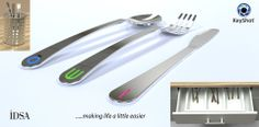 Tagged Cutlery-  By Andrew J. Coyne - GrabCAD