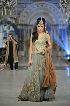 Uzma Baber - Pakistani Bridal Fashion at Pantene Bridal Couture Week 2013 PBCW Lahore