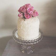 Coconut Layer Cake #bluebellscakery