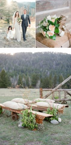 A peaceful grassland ceremony at The Ranch at Rock Creek. The world's only Forbes Travel Guide Five-Star ranch is pleased to be welcoming Laurie Arons back for her second Wedding Planner Masterclass this spring!