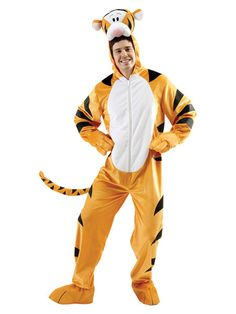 Get this 'Tigger' Winnie The Pooh Fancy Dress Costume for quickest next day delivery. Buy Winnie the Pooh costumes, Tigger costumes, animal costumes and Tiger costumes. Costumes Halloween Disney, Tigger Halloween, Cool Costumes, Adult Costumes, Halloween Ideas, Costume Ideas, Halloween 2019, Cosplay Ideas, Hilarious Pictures