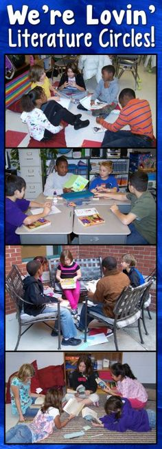 Kids love classroom book clubs, an easy and effective form of literature circles!